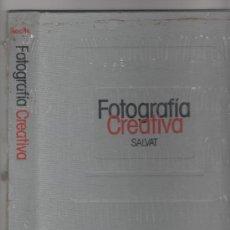 Cámara de fotos: 1 TAPAS NUEVAS PARA ENCUADERNAR FASCICULOS DE LA ENCICLOPEDIA SALVAT DE FOTOGRAFÍA CREATIVA.. Lote 36181292