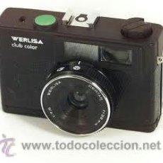 Cámara de fotos: CAMARA ANALÓGICA WERLISA CLUB COLOR + FUNDA. Lote 36545404