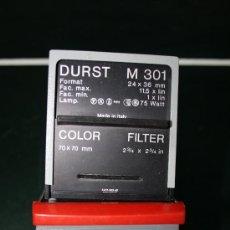 Cámara de fotos: AMPLIADORA DURST M301 CON ÓPTICA YSARON RODENSTOCK F/3.5-50. Lote 36499991