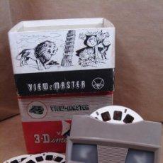 Appareil photos: VISOR ESTEREOSCOPICO 3D - VIEW MASTER E + 3 DISCOS LITTLE PONY + CAJA - BELGIUM 80S. Lote 36647395