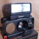 Cámara de fotos: CAMARA INSTANTANEA POLAROID - SONAR AUTOFOCUS 5000- AÑO 1979 + FLASH POLATRONIC 5 ¡¡ FUNCIONA¡¡. Lote 36745498