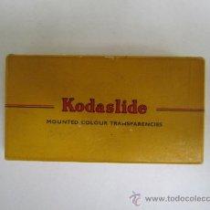 Cámara de fotos: CAJA KODASLIDE KODAK. Lote 37107079