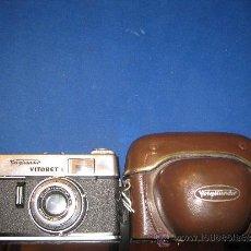 Cámara de fotos: CAMARA VOIGTLANDER VITORET S. COLOR. LANTHAR 2.8/50MM.. Lote 37120916