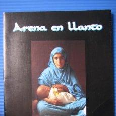 Cámara de fotos: CATALOGO. ARENA EN LLANTO POR BRAULIO VALDERAS 1996. Lote 37172465