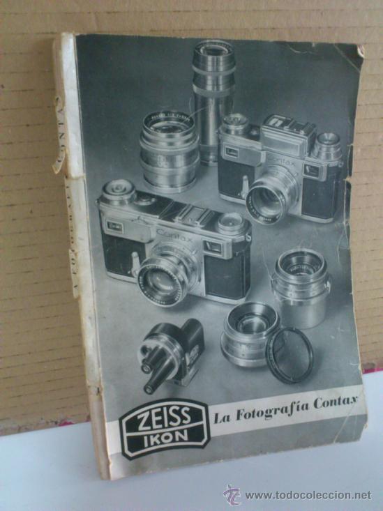CATALOGO. ZEISS IKON - SUPER NETTEL - NETTAX - CONTAX - CONTAFLEX (Cámaras Fotográficas - Catálogos, Manuales y Publicidad)