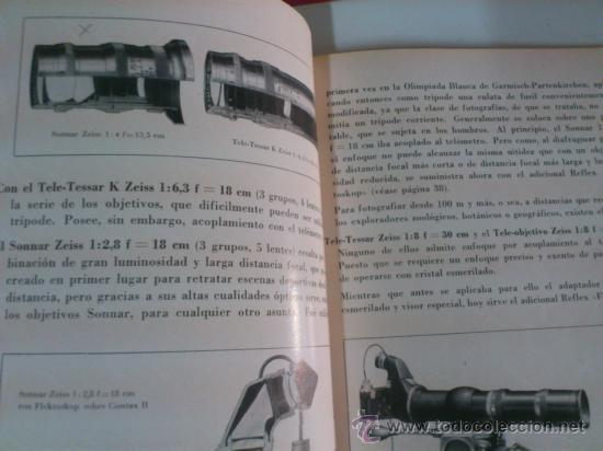 Cámara de fotos: CATALOGO. ZEISS IKON - SUPER NETTEL - NETTAX - CONTAX - CONTAFLEX - Foto 2 - 39395547