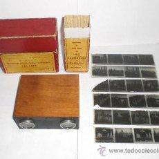 Cámara de fotos: APARATO ESTEREOSCOPICO - EXPOSICION INTERNACIONAL BARCELONA 1929 (INCLUYE 6 VISTAS EN RELIEVE). Lote 38125139
