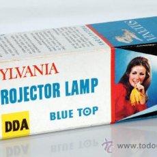 Cámara de fotos: SYLVANIA PROJECTOR LAMP BLUE TOP. Lote 38154572