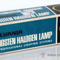 Cámara de fotos: SYLVANIA TUNGSTEN HALOGEN LAMP. Lote 38154908
