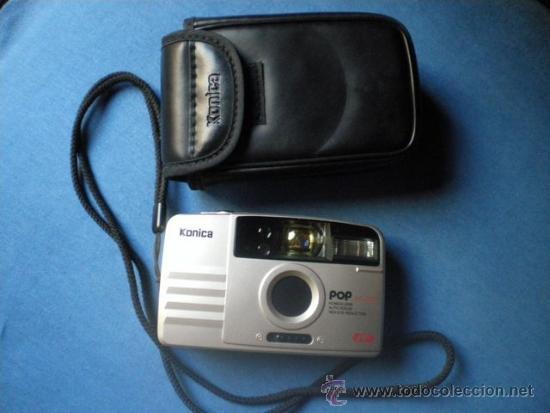 CAMARA FOTOGRAFICA KONICA POP AF 200 + FUNDA (Cámaras Fotográficas - Otras)