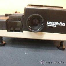 Cámara de fotos: PROYECTOR DE DIAPOSITIVAS - KINDERMANN TELEFOCUS - . Lote 38341552