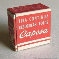 Cámara de fotos: TIRA CONTINUA PARA REBORDEAR FOTOS CAPOSA. Lote 38697401