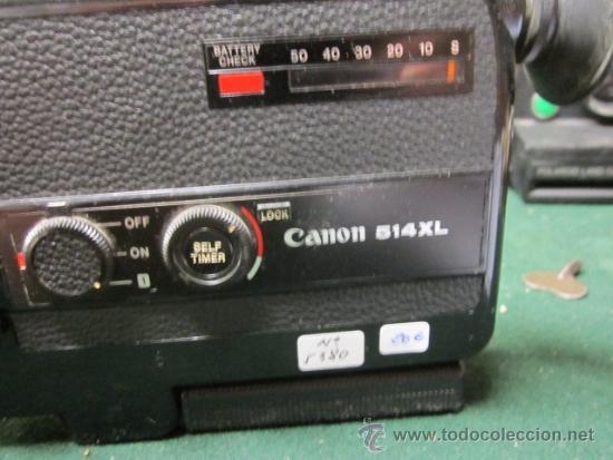 Cámara de fotos: Cámara de vídeo Canon 514 XL. 20 x 12 x 3,50 cms. - Foto 2 - 39066972