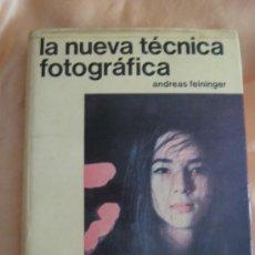 Cámara de fotos: LA NUEVA TECNICA FOTOGRAFICA, EDITORIAL HISPANO EUROPEA.. Lote 39125885