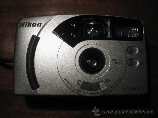 CAMARA NIKON AF240SV - NIKON LENS 28 MM (Cámaras Fotográficas - Otras)