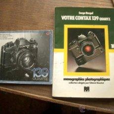 Cámara de fotos - Instruciones y libro sobre la Contax 139 quartz - 39472915