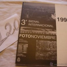 Cámara de fotos: ANTIGUO CATALOGO FOTONOVIEMBRE - ENVIO GRATIS A ESPAÑA. Lote 39902596