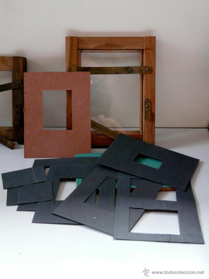 Cámara de fotos: DOS PRENSAS DE CONTACTO - FOTOGRAFIA ANTIGUA - Foto 3 - 40021723