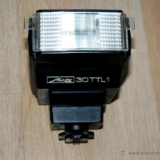 Cámara de fotos: FLASH ELECTRÓNICO METZ MECABLITZ 30 TTL1. Lote 40169210