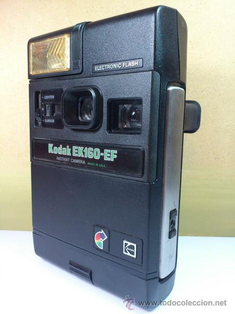 CÁMARA KODAK EK160-EF - INSTANT CAMERA ELECTRONIC FLASH (Cámaras Fotográficas - Otras)
