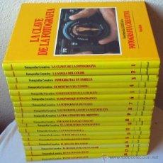 Cámara de fotos: ENCICLOPEDIA DE LA FOTOGRAFÍA CREATIVA - 18 TOMOS + 1 TOMOS COMPLETA - KODAK / SALVAT 1989. Lote 40385840