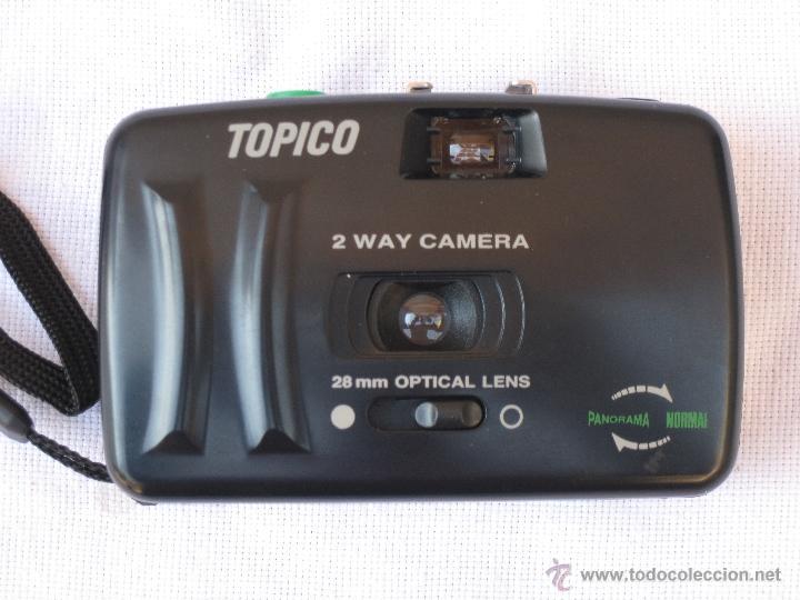 CAMARA DE FOTOGRAFIAR - TOPICO / MINITOP 2 WAY CAMERA. A ESTRENO. (Cámaras Fotográficas - Otras)