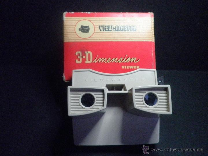 VIEW-MASTER 3D DIMENSION VIEWER MODEL G (Cámaras Fotográficas - Visores Estereoscópicos)