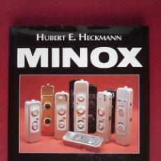 Cámara de fotos: LA HISTORIA DE LAS CAMARAS MINOX. MAGNIFICO VOLUMEN.. Lote 40833649