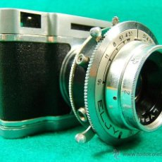 Cámara de fotos: ELJY LUMIERE CLUB-FORMATO MINIATURA-OBJETIVO LYPAR 1:3,5-B1 A 300-DIAFR:3,5A 16-PRECIOSA CAMARA.... Lote 40856448