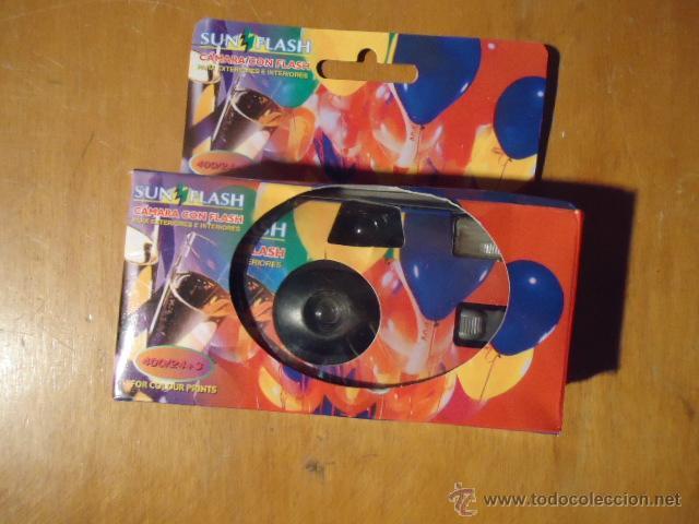 Cámara de fotos: rara camara desechable un solo uso, sin abrir en caja original - Foto 2 - 41329082