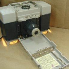 Cámara de fotos: RARA IMPRESORA COPIADORA - POLAROID MODELO 240 - AÑO 1967 ¡¡ FUNCIONANDO ¡¡. Lote 41376088