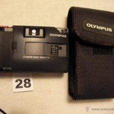 Cámara de fotos: CAMARA DE FOTOS OLYMPUS TRIP MD CON ESTUCHE. Lote 119140319