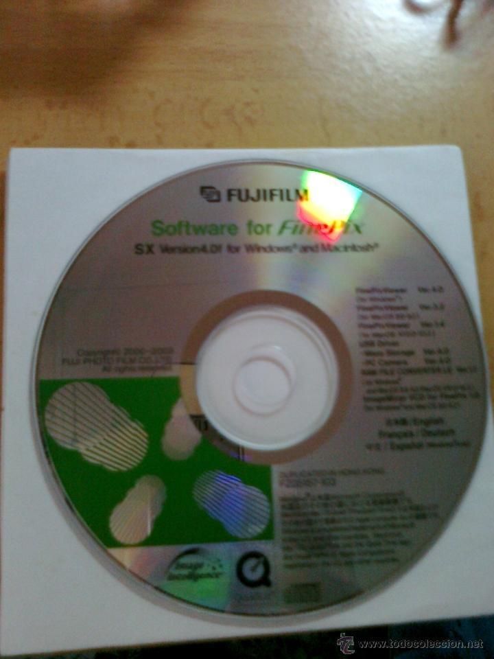 FUJIFILM CD SOFTWARE FOR FINEPIX SX VERSION 4 ENGLISH,FRANCAIS,DEUTSCH Y ESPAÑOL (Cámaras Fotográficas - Otras)