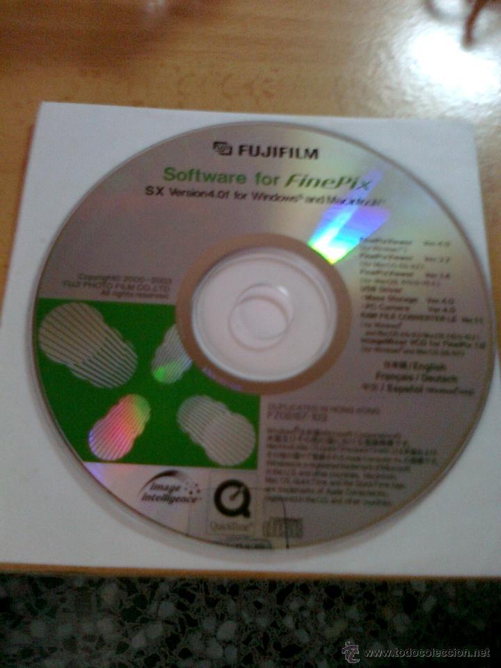 Cámara de fotos: FUJIFILM CD SOFTWARE FOR FINEPIX SX VERSION 4 ENGLISH,FRANCAIS,DEUTSCH Y ESPAÑOL - Foto 3 - 41523789