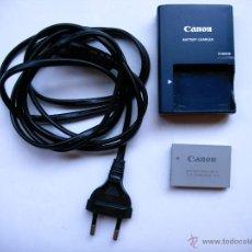 Cámara de fotos: CARGADOR Y BATERIA PARA CANON IXUS 800 IS. Lote 41837828