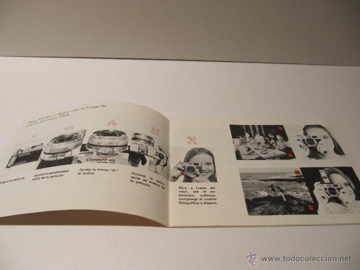 Cámara de fotos: MANUAL DE INSTRUCCIONES CANON CAMARA CANONET 28 - Foto 4 - 42263521