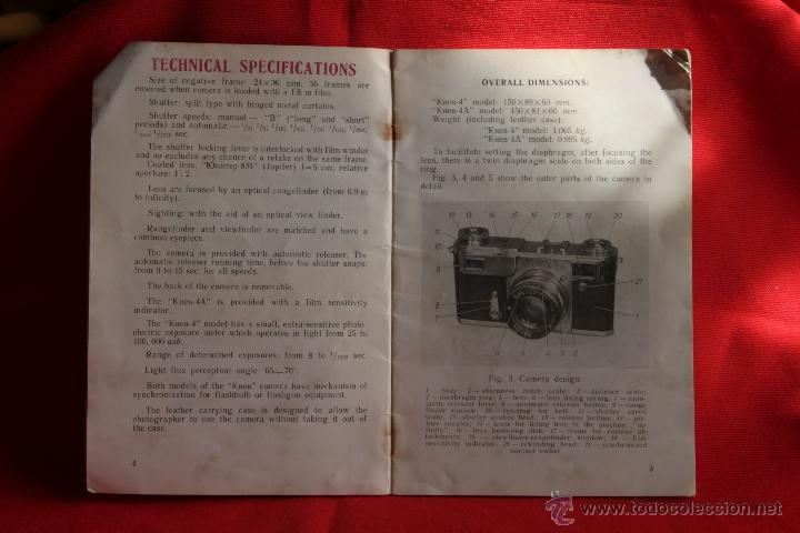 Cámara de fotos: Libro de Instrucciones Cámara KIEV - Foto 2 - 42265578