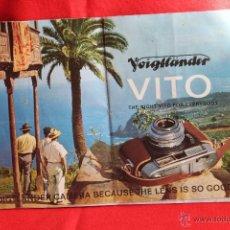 Appareil photos: FOLLETO PROPAGANDA VOIGTLÄNDER VITO B. Lote 42265781