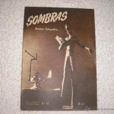 Cámara de fotos: SOMBRAS REVISTA CINEMATOGRAFICA Nº 43 1947. Lote 42445672