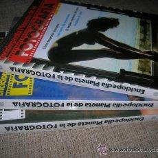 Cámara de fotos: TOMOS ENCICLOPEDIA PLANETA DE LA FOTOGRAFÍA. Lote 42510520
