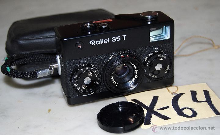 CÁMARA COMPACTA ROLLEI 35 T - 64 (Cámaras Fotográficas - Otras)