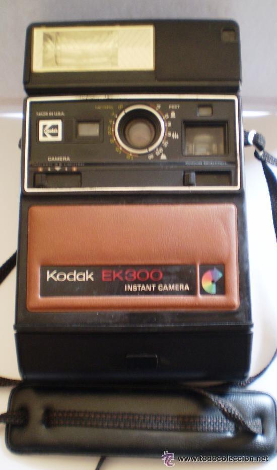 KODAK EK 300 INSTANT CAMARA VINTAGE AÑOS 70 (Cámaras Fotográficas - Otras)