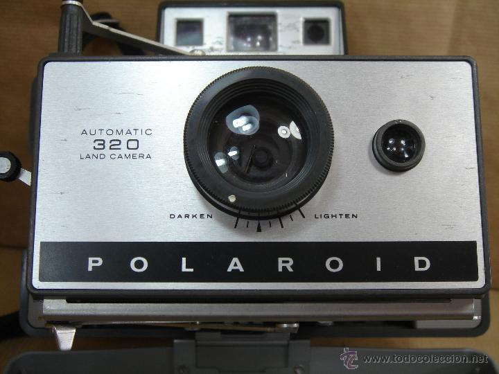 Cámara de fotos: POLAROID 320 AUTOMATIC + FLASHGUN BULBO 268 + FUNDA ORIGINAL + MANUAL - LAND CAMERA 1978 - Foto 7 - 42995030
