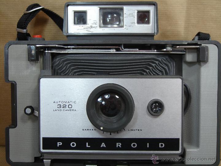 Cámara de fotos: POLAROID 320 AUTOMATIC + FLASHGUN BULBO 268 + FUNDA ORIGINAL + MANUAL - LAND CAMERA 1978 - Foto 9 - 42995030
