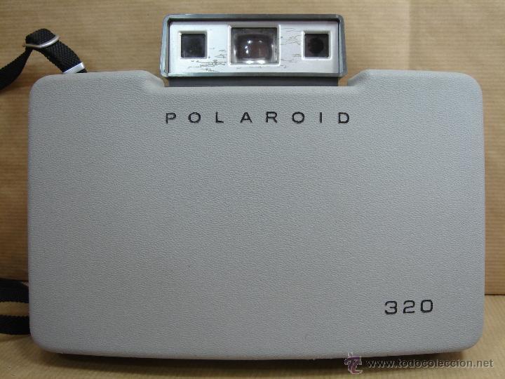 Cámara de fotos: POLAROID 320 AUTOMATIC + FLASHGUN BULBO 268 + FUNDA ORIGINAL + MANUAL - LAND CAMERA 1978 - Foto 10 - 42995030