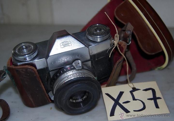CÁMARA DE FOTOS ZEISS IKON CONTAFLEX - 57 (Cámaras Fotográficas - Otras)