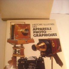 Cámara de fotos: MICHEL AUER EDITA DENOEL HISTOIRE ILLUSTRÉE APPAREILS PHOTOGRAPHIQUES FIRMADO AÑO 1975. Lote 43104340