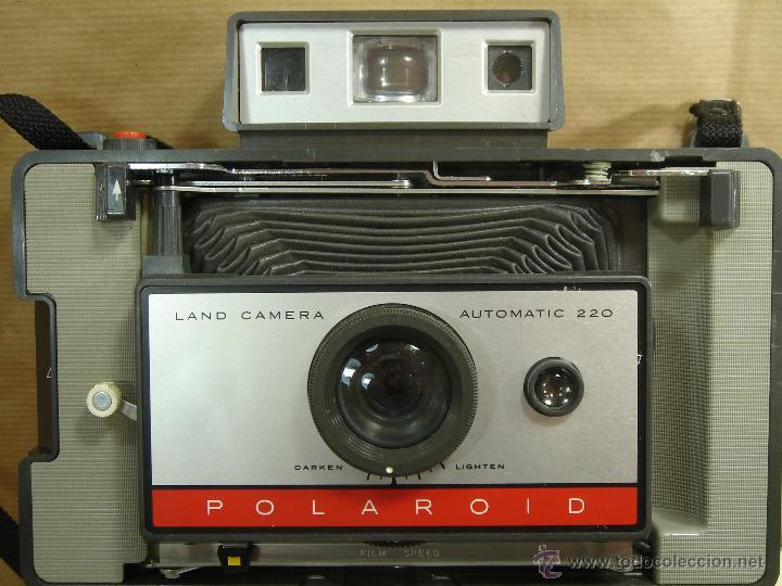 Cámara de fotos: CAMARA INSTANTANEA - POLAROID 220 AUTOMATIC + MANUAL - LAND CAMERA 1968 - Foto 8 - 43112286