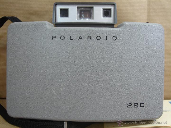 Cámara de fotos: CAMARA INSTANTANEA - POLAROID 220 AUTOMATIC + MANUAL - LAND CAMERA 1968 - Foto 9 - 43112286