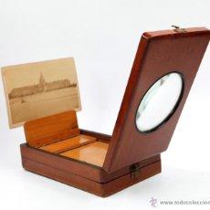 Cámara de fotos: VISOR ÓPTICO PARA FOTOGRAFÍAS, 1900'S. TAMAÑO PLEGADO: 22CM. X 13,5 ANCHO X 6CM ALTO VER FOTOS.. Lote 43129208